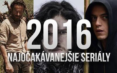 10 seriálů, na které se v roce 2016 těšíme nejvíce