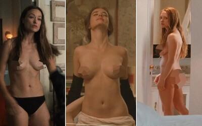 10 slávnych herečiek, ktoré sa nebáli vyzliecť pred kamerou