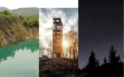 10 slovenských miest, kam by si sa mal v lete vybrať na krátky výlet. Pozoruj hviezdy, vyskúšaj prírodnú vírivku aj slovenskú púšť