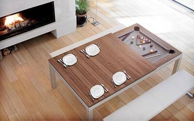 10 stolov, ktoré by si určite chcel mať doma