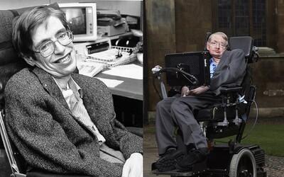 10 zajímavostí o Stephenu Hawkingovi, které jsi (možná) nevěděl. Známkami ve škole nevynikal a podle lékařů měl zemřít v roce 1968