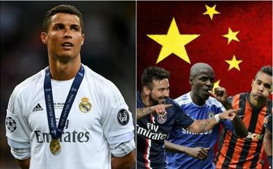 100 miliónov eur ročne. Cristiano Ronaldo obdržal od čínskeho klubu neskutočnú ponuku