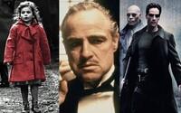 100 najlepšie natočených filmov 20. storočia. Nájdeš medzi nimi Matrix, Krstného otca či Schindlerov zoznam