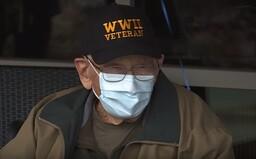 104letý veterán z druhé světové války zdolal koronavirus