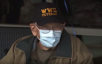 104-ročný veterán z druhej svetovej vojny zdolal koronavírus