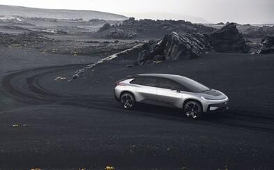 1050 koní, dojazd 700 km a dychberúca akcelerácia! Elektrický Faraday Future položí do kolien Teslu, Rimac aj Bugatti