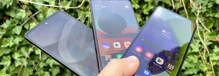 Tři mobily kolem sedmi tisíc. Otestovali jsme Xiaomi Redmi Note 10 Pro, Samsung Galaxy A52 a Moto G 5G