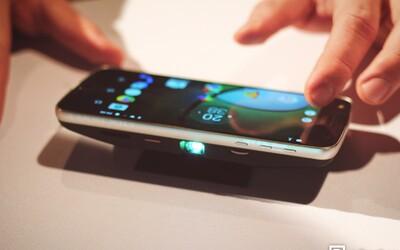 10-násobný optický zoom alebo šikovný projektor. Lenovo Moto Z a prehľad dostupných modulov Moto Mods