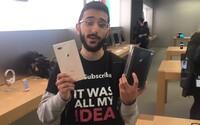 11 dní kempoval před Apple obchodem, ale teď už nový iPhone nechce. Zklamal ho, a tak ho radši daruje své mámě