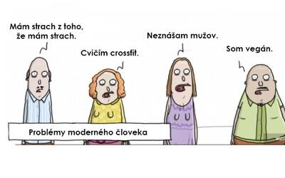 11 humorných, ale i smutných ilustrací bavících se na účet moderní společnosti. Kam lidstvo směřuje?