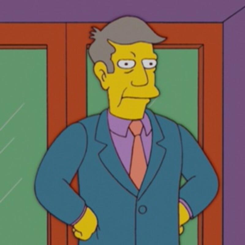 Ako sa vlastným menom volá riaditeľ Seymour Skinner?