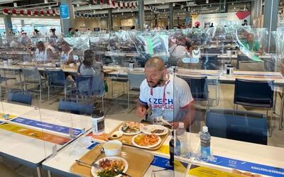 """""""Ubytování jedno z nejhorších, jídlo naopak špičkové,"""" popisuje atmosféru olympijské vesnice český zápasník."""