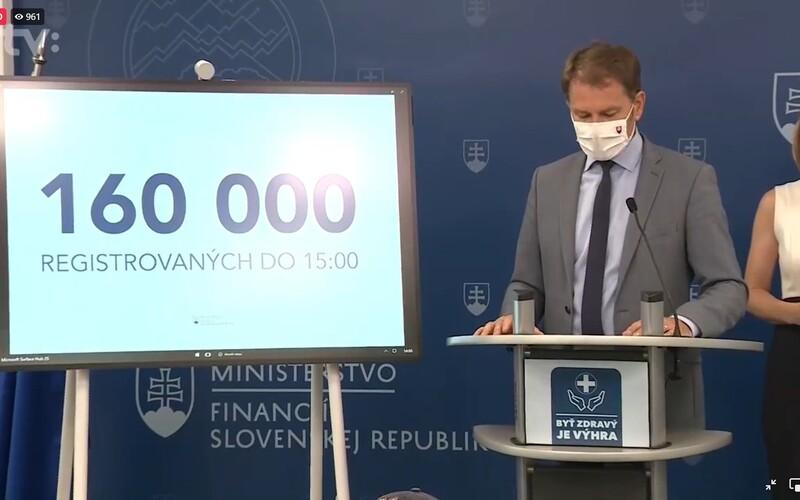 Matovič rozdá v očkovacej lotérii ceny vyše 100-tisíc ľuďom. Výhry budú v rozmedzí 100 eur až 500-tisíc.
