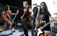 12letý syn člena Metallicy prožil fantastický rockový debut. V šlépějích otce zaskakuje basového kytaristu skupiny Korn
