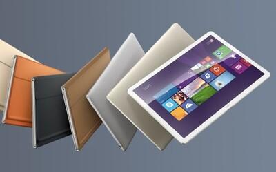 12-palcový displej, klávesnica a poriadna výdrž. Hybridný tablet Huawei MateBook sa hodí do školy aj práce