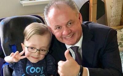 12-ročného youtubera podporil aj prezident. Mako trpí extrémnou lámavosťou kostí, no Andreja Kisku vyzval na divoký challenge