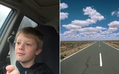 12letý kluk ukradl rodičům auto a ujel 1 300 km napříč Austrálií. Zastavili ho až policisté, když si všimli poškozeného nárazníku