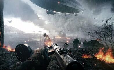 13 minút epických záberov zo singleplayeru Battlefield 1 ukazuje peklo, tisícky mŕtvych a skvelé hrateľnostné prekvapenia