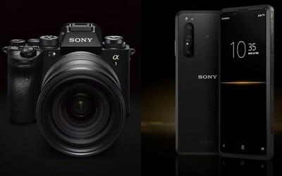 Zrkadlovka Sony Alpha 1 a smartfón Xperia Pro majú doposiaľ nevídané parametre.