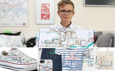 13letý Matěj s autismem miluje kreslení map. Jeho rodiče mu chtějí splnit sen a založit charitativní značku s oblečením