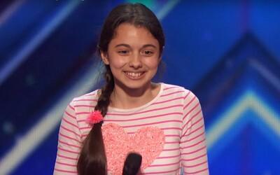 13-ročná operná speváčka všetkých prekvapila v talentovej súťaži a porota neváhala stlačiť zlatý bzučiak