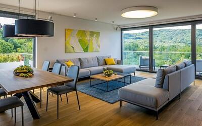 140 m² obytnej plochy výnimočnej priestrannosti a moderného dizajnu v bratislavskej Villa Vista