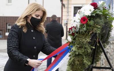 Zuzana Čaputová: Holokaust bol najväčšou tragédiou v dejinách ľudstva, jeho príčinami bolo aj šírenie klamstiev a nenávisti.