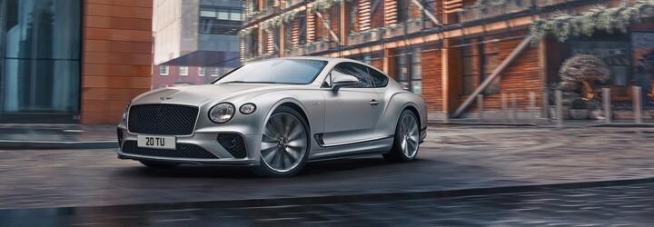 Nový Continental GT Speed je údajně nejdynamičtější model v historii značky, Bentley však zavádí