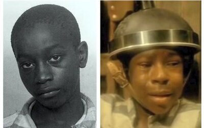 14-ročnému chlapcovi bolo elektrické kreslo veľké, tak ho popravili sediac na Biblii. O 70 rokov neskôr uznali jeho nevinu