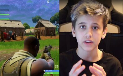 14letý chlapec si hraním Fortnite vydělal už 200 tisíc dolarů. Nabarvil si vlasy namodro a sledují ho i dospělí