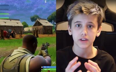14-ročný chlapec si hraním Fortnite zarobil už 200-tisíc dolárov. Nafarbil si vlasy namodro a sledujú ho aj dospelí
