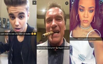 15 celebrit, které stojí za to sledovat na Snapchatu. Sleduj každý krok Eda Sheerana nebo Arnolda Schwarzeneggera