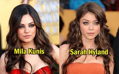 15 hercov a herečiek, ktoré vyzerajú takmer identicky. Rozlíšil by si ich všetkých bez pomoci?