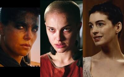 15 herečiek, ktoré sa vzdali celoživotne pestovaných vlasov a nechali si kvôli filmovej role oholiť hlavu