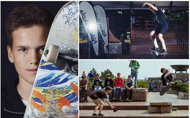 16letý talent, to je Kryštof Mizur, který si život bez skateboardingu nedokáže představit (Rozhovor)