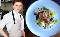 16-ročný šéfkuchár vypredáva reštaurácie. Varenie ho oslovilo kvôli tomu, že jeho rodičia nemali fantáziu