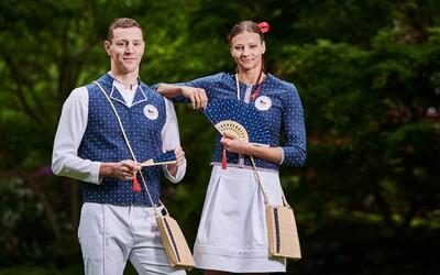 Češi vyrazí na olympiádu v Tokiu ve speciálních krojích s modrotiskem.