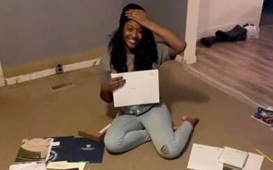 17letou studentku přijali na 55 vysokých škol. Získala stipendia v hodnotě 1,3 milionu dolarů