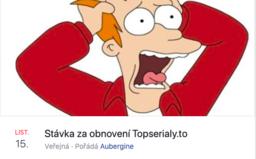 18 tisíc Čechů chce stávkovat za obnovení Topserialy.to. Nehodlají platit za to, co bylo doteď zadarmo