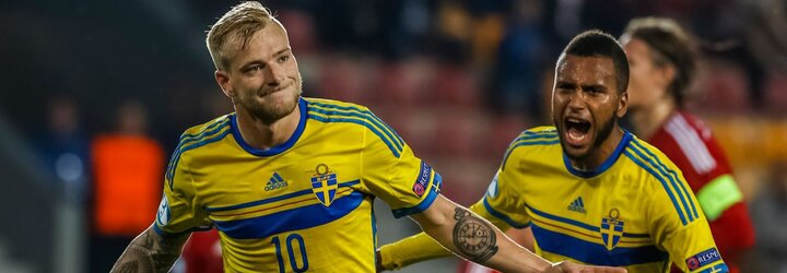 Švédski futbalisti s historickým triumfom, ich 21-ka ovládla futbalovú Európu