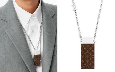Louis Vuitton ponúkne náhrdelník s gumou na ceruzku za takmer 700 eur