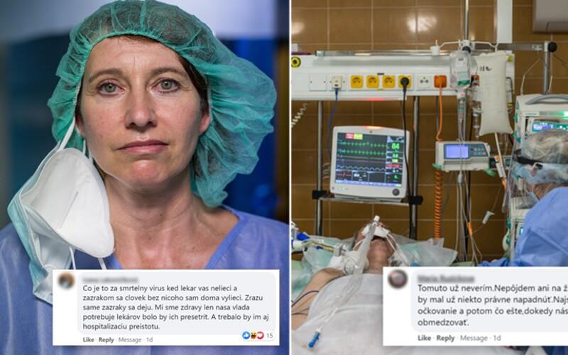 Internetových hrdinov konfrontovali s tragickou realitou v slovenských nemocniciach. Na Facebooku sa im vypisovalo ľahko.