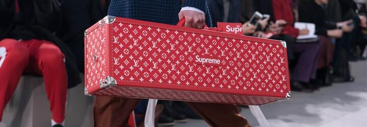 Louis Vuitton vytahuje nečekanou spolupráci se značkou Supreme a internet vybuchl!