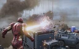 19 minút z hry Avengers predstavuje Hulka či Iron Mana bojujúcich na Golden Gate Bridge