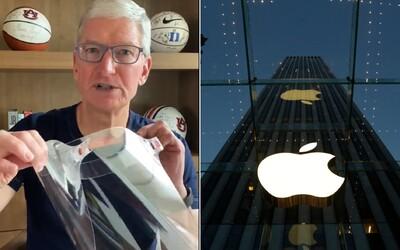Apple chce pomôcť v boji proti korone, daruje 20 miliónov masiek.