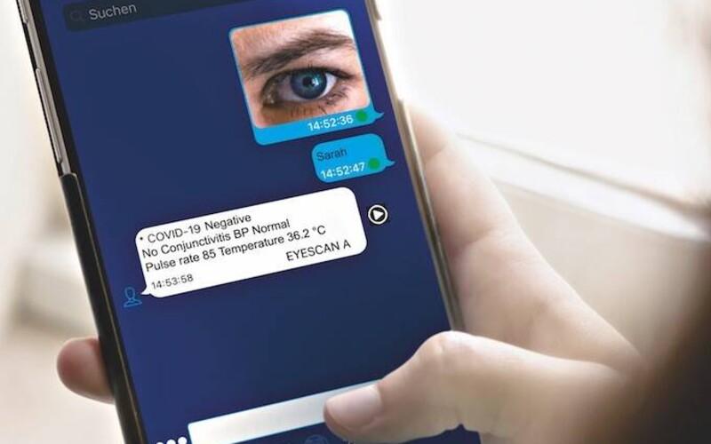 Tvé oči prozradí, zda máš koronavirus. Německá firma představila nový druh testů na covid-19.