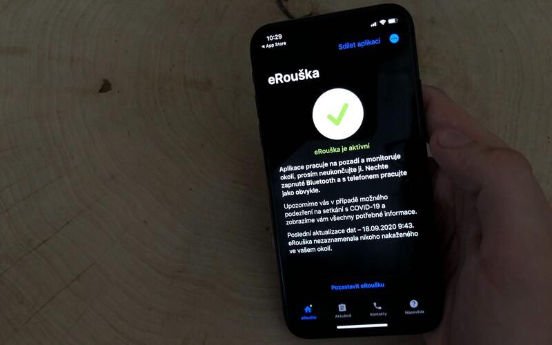 Aplikace eRouška se dočkala aktualizace a změn.