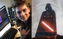 19-ročný Čech robil efekty pre úspešný fanúšikovský Star Wars film. Ako sa k nemu dostal a prečo odmietol výplatu? (Rozhovor)