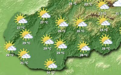 Priprav sa na extrémne teplo, na Slovensko prichádzajú tridsiatky, tropické dni aj noci.
