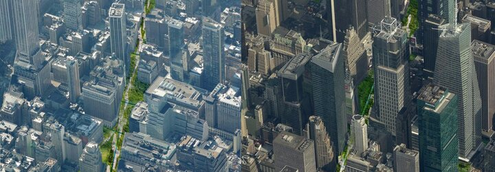 Newyorský Broadway by sa mohol premeniť na zelenú oázu pokoja. Stane sa nápad architektov realitou?